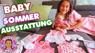 REBORN BABY AUSSTATTUNG Shopping - neue OUTFITS für ELA - Mileys Welt