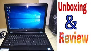 HP laptop || Hp15-bs579tx unboxing and full review || in hindi || by ||oms technical || oms||