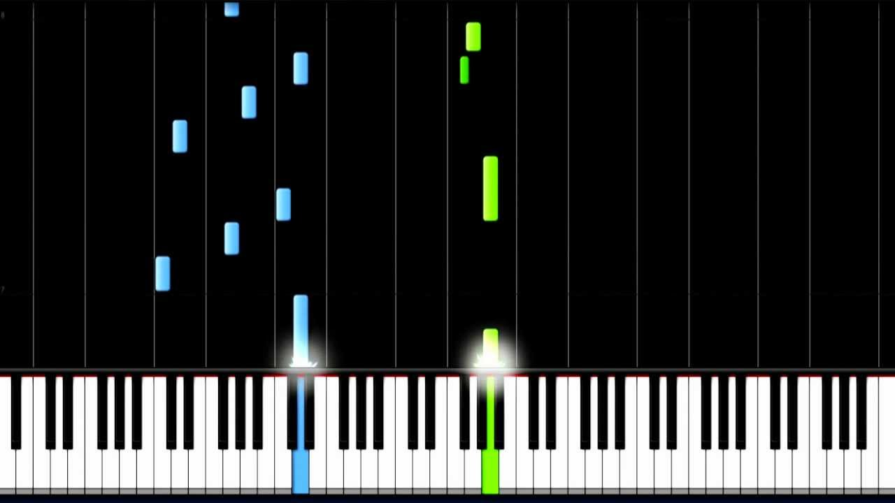 How to play little things one direction easy piano how to play little things one direction easy piano tutorial synthesia hexwebz Images