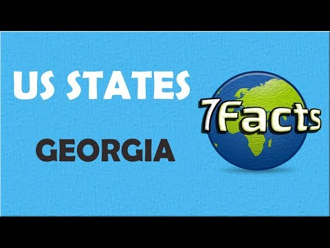7 Facts about Georgia (state)