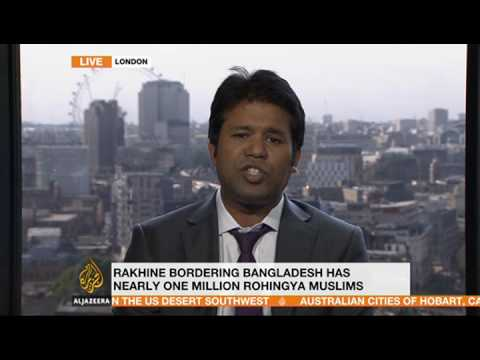 Al Jazeera News interview on first visit of KOFI ANNAN Commission to Rakhine State, 7th Sept 2016