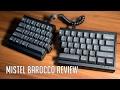 Mistel Barocco Review | 60% Ergonomic Keyboard
