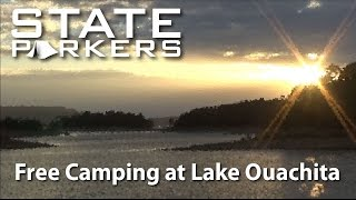 Free Camping at Lake Ouachita with STATE PARKERS