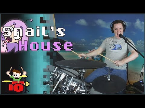 Snail's House - Grape Soda On Drums! -- The8BitDrummer