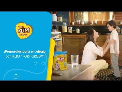 KLIM® FORTIGROW® - Alimento Lácteo para la Edad Escolar.