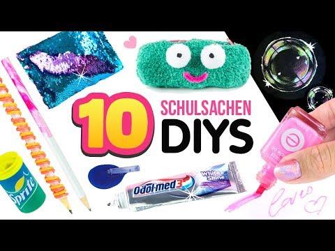 5 MINUTEN DIYs für die SCHULE 😍 Pranks, Basteln & einfache Tricks ❤ Deutsch