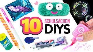 5 MINUTEN DIYs für die SCHULE 😍 Pranks, Tipps, Basteln & einfache Tricks Anleitung ❤ Deutsch