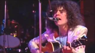 T Rex - Spaceball Ricochet - live Concert Wembley - 18th March 1972.3gp