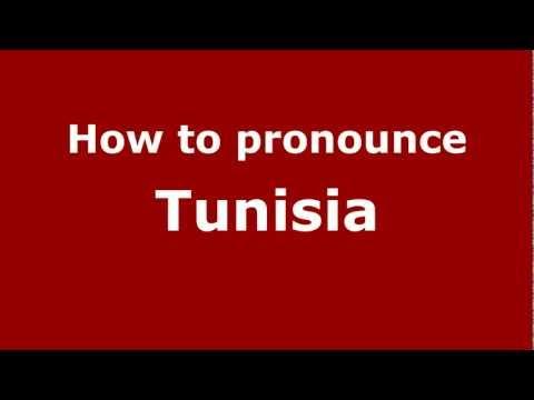 How to Pronounce Tunisia - PronounceNames.com