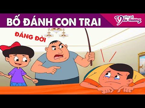 Phim Hoạt Hình Mới ► BỐ ĐÁNH CON TRAI - Truyện Cổ Tích Việt Nam - Tổng Hợp Phim Hay