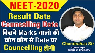 NEET 2020 Result Date | Counselling Date Announced By NTA | Chandrahas Sir
