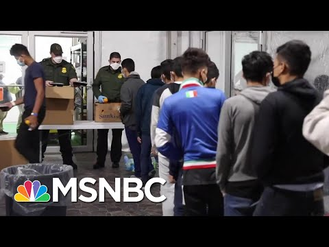 CBP Releases Video From Inside Texas Migrant Facility   Stephanie Ruhle   MSNBC