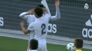 بالفيديو: إنزو زيدان يحرز هدفا رائعا على طريقة والده!