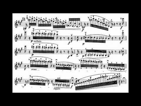 Paganini, Niccolò I Palpiti op.13 for violin + piano