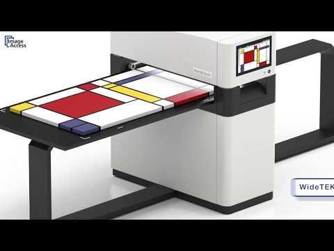 UPDATED VERSION! WideTEK® 36ART Fine Art Scanner