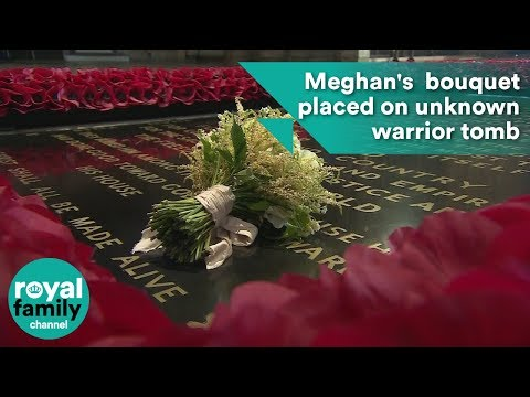 Meghan Markle's royal bridal bouquet placed on tomb of unknown warrior as per tradition
