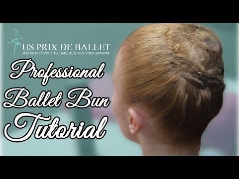 Professional Ballet Bun Tutorial