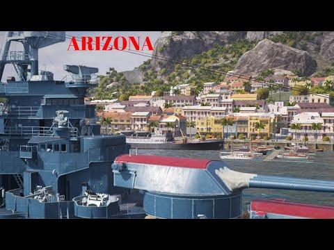 Arizona Battleship   World Of Warships Legends Console