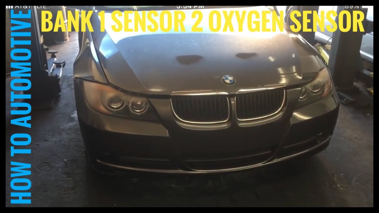 4wire O2 Sensor Diagram Wiring Master Blogs Bmw Wire 4 How To Replace The Bank 1 2 Oxygen On A 2005 325i Rh Youtube Com Toyota