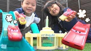 カーズ おもちゃ カラーチェンジャーズ ペイントショップ 水遊び  Cars McQueen Color Changers Ramone's Playset Toy