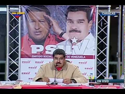 Presidente Maduro este 9 de febrero 2015 desde el Waraira Repano