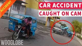 Car accident in Philippines caught on camera || WooGlobe