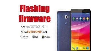 Micromax A311 Flashing Hindi