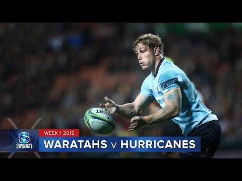 HIGHLIGHTS: 2019 Super Rugby Week 1 Waratahs v Hurricanes
