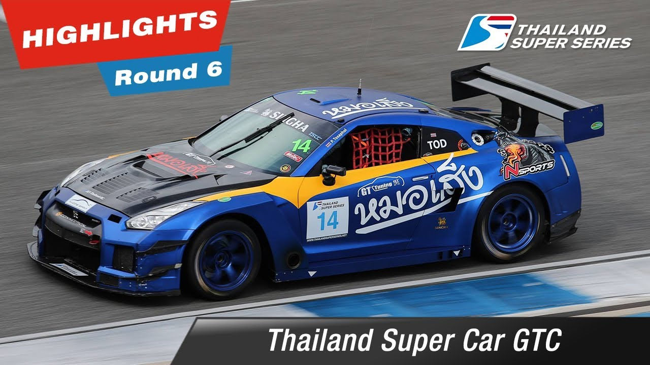 Highlights Thailand Super Car GTC : Round 6 @Chang International Circuit