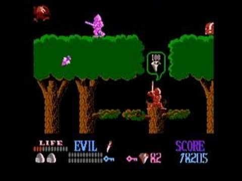 Wizards and warriors nes gameplay youtube for Wizards warriors