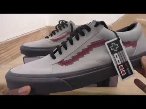 vans old skool nintendo
