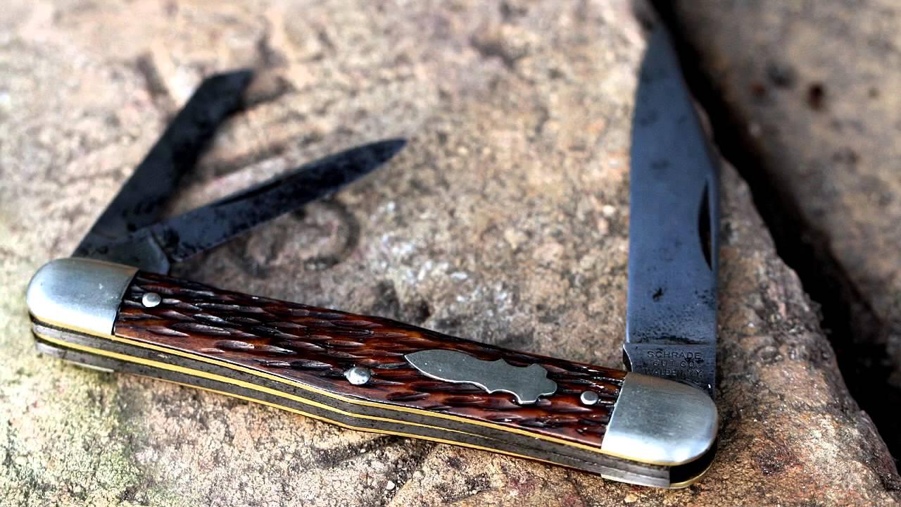 Knife schrade vintage