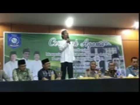 Kocak! Ceramah Ustadz Abdul Somad Lucu Banget Di Kantor Gubernur Bangka Belitung
