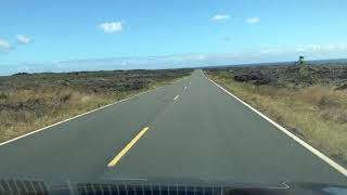 Hawaii Volcanoes National Park - Chain of Craters Road - Southbound Drive (2018)