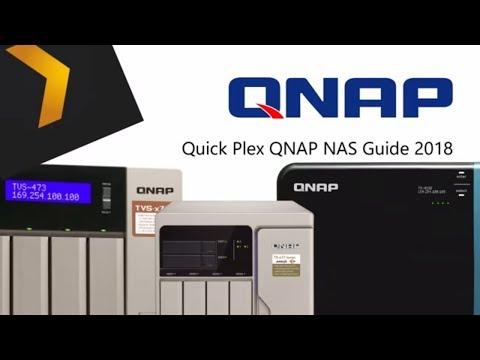 Plex QNAP NAS Guide 2018