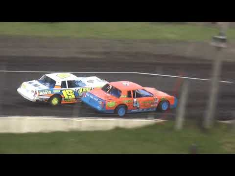 IMCA Stock Car Heat 1 Benton County Speedway 6/9/19