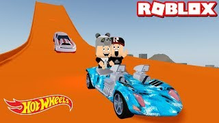 Bu Nasl Parkur Hot Wheels Arabalar Geldi - Panda ile Roblox Vehicle Simulator