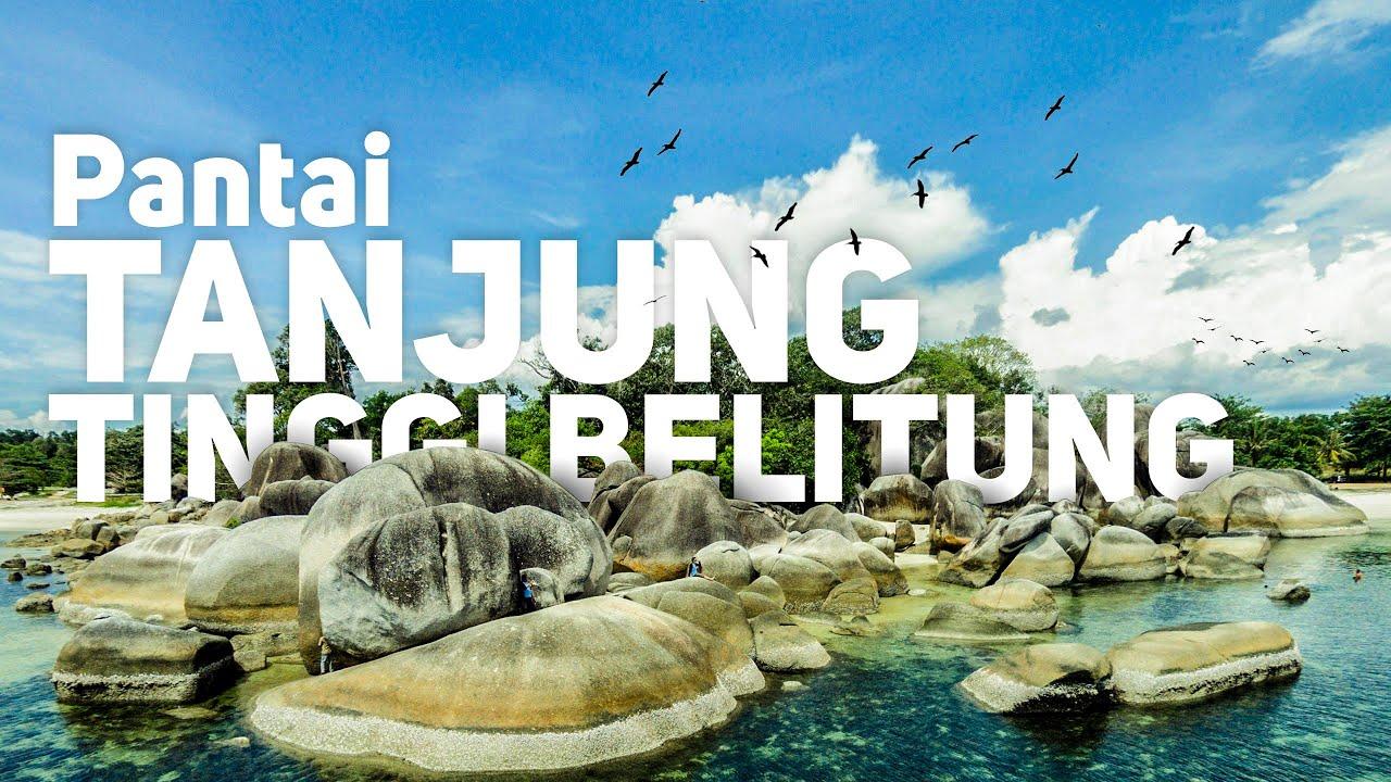 Pantai Tanjung Tinggi  pulau bangka #Belitung
