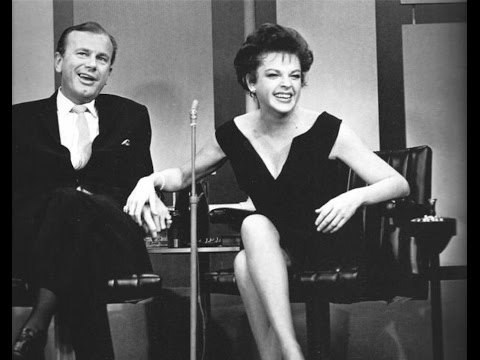 JUDY GARLAND Jack Paar Show Robert Goulet BEST QUALITY Judy's very first talk show appearance