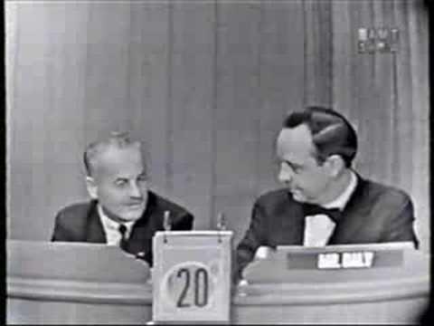 Darryl F. Zanuck on 'Whats My Line' (1958)