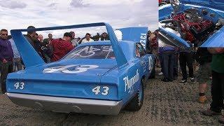 "Great Sounding V8 Plymouth Superbird ""Petty Replica"""