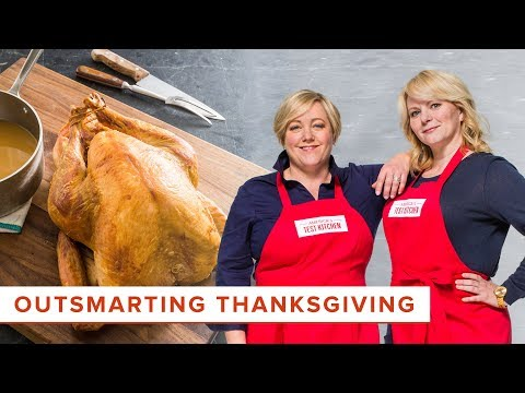 An Easier Roast Turkey That Uses A Tool For Pizza And The