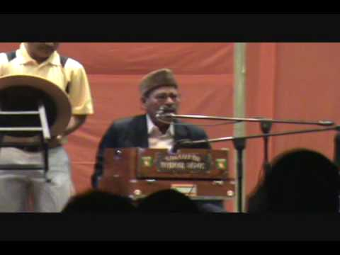 Manna Dey (90 years old) Live (Orlando Durga Puja, 2009): Part 1