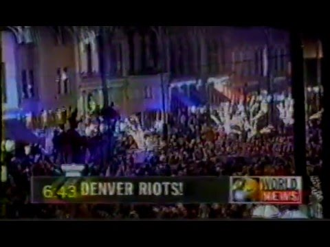 Denver Super Bowl XXXII Riot