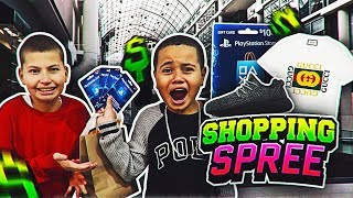 """BUY ANYTHING YOU WANT"" FOR 24 HOURS FOR KAYLEN!! - YOU WONT BELIEVE WHAT HE GOT! SHOPPING SPREE!"