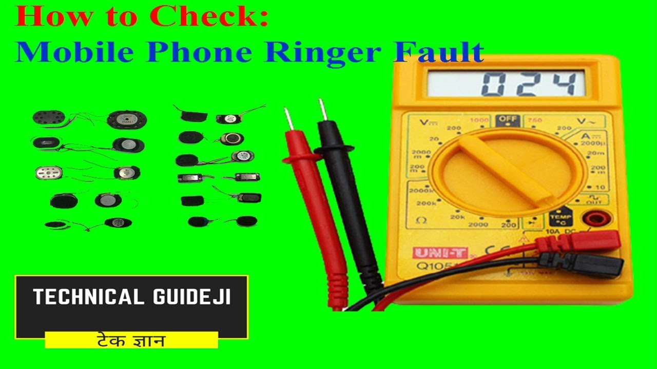 How To Check Ringer Of A Mobile Phone Repairing Youtube Best Telephone Ringing Circuits