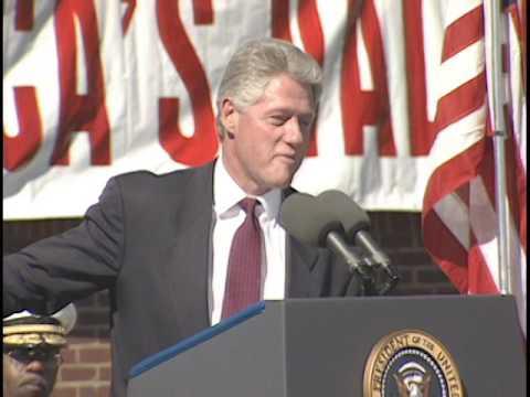President Clinton in Birmingham, Alabama ('96 Campaign)