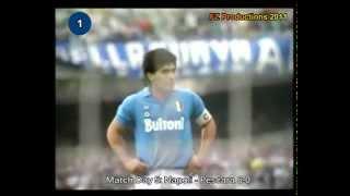 Italian Serie A Top Scorers: 1987-1988 Diego Armando Maradona (Napoli) 15 goals