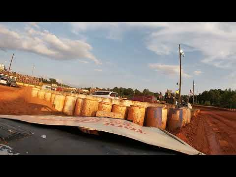 Lancaster Motor Speedway 7/28/19 Isaac Thomas pure stock hot lap qualifying(no brakes on car)