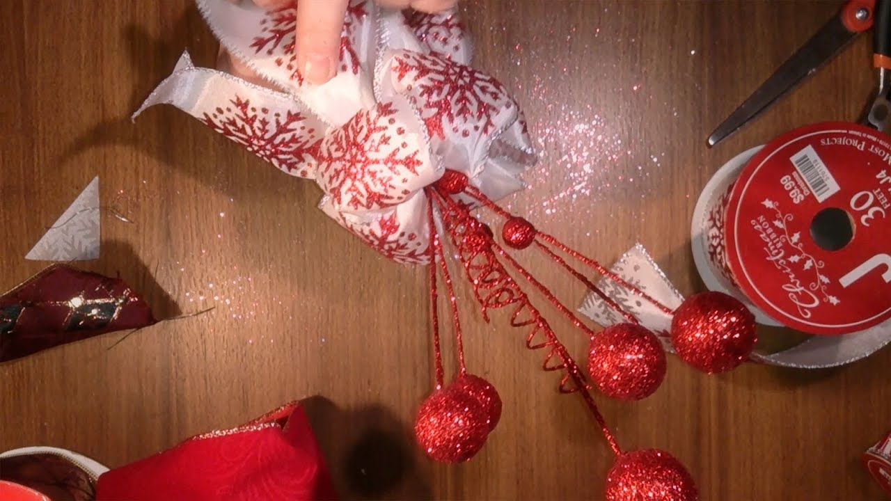 Christmas Tree Topper, How To